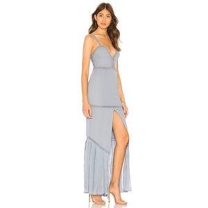 blue embellished dress size medium